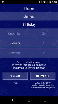 Birthday^100 apk screenshot
