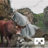 Waterfall Hunting VR Cardboard icon