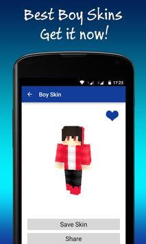 Best Boy Skins for Minecraft poster