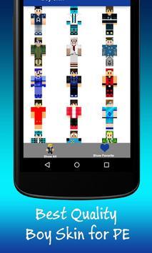 Best Boy Skins for Minecraft apk screenshot