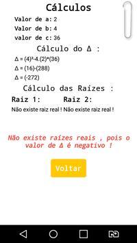 Equação de 1º e 2º Grau screenshot 3