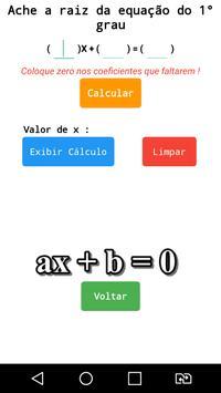 Equação de 1º e 2º Grau screenshot 1