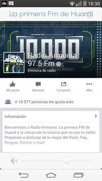 Radio Armonía 97.5Fm screenshot 1