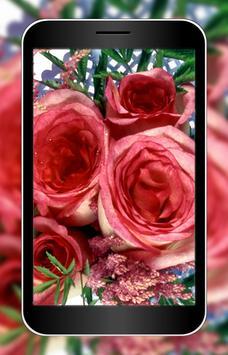 3D Rose Flower Wallpaper HD Apk Screenshot