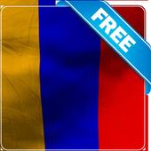 Armenia flag lwp Free icon