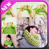 Arm Knitting Tutorial icon