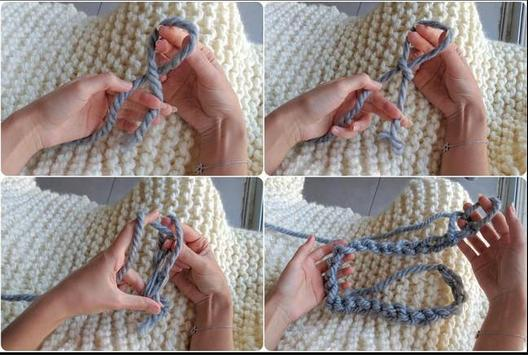 Arm Knitting Tutorial apk screenshot