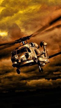 Helicopters ScreenLocker apk screenshot
