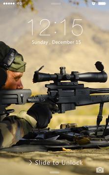 Sniper AWP ScreenLocker poster