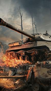 Tank Assault ScreenLocker apk screenshot