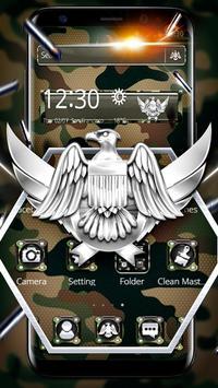 Army Military Force Theme الملصق
