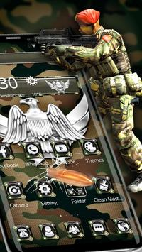 Army Military Force Theme screenshot 1