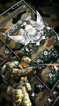 Army Military Force Theme screenshot 2