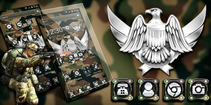 Army Military Force Theme screenshot 3