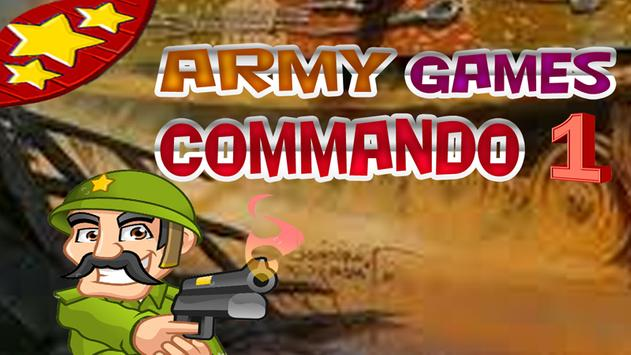 army games Commando 1 poster