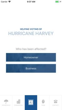 Hurricane Harvey Claims poster