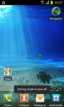 Driving Mode Widget screenshot 1