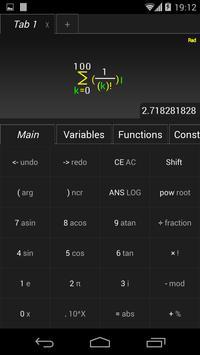 TabCalc screenshot 2