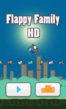 Flappy Family Pro HD poster