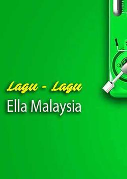 Lagu Ella Malaysia Hits poster