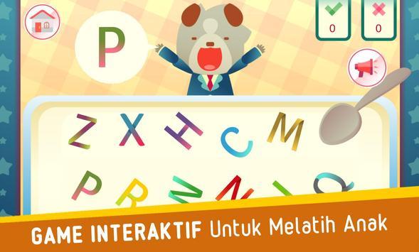 Pippo Belajar Huruf Alfabet screenshot 4