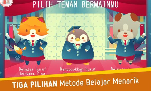 Pippo Belajar Huruf Alfabet screenshot 1