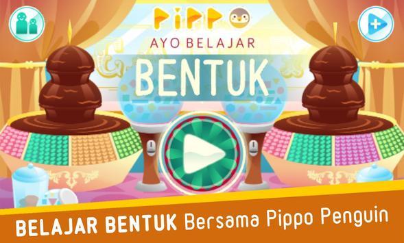 Pippo Belajar Bentuk poster