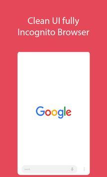 Incognito Browser Beta poster