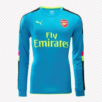 Arsenal shirt creation screenshot 4