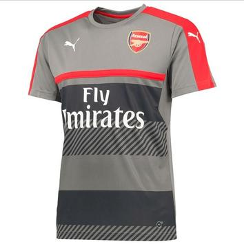 Arsenal shirt creation screenshot 1