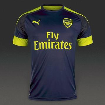 Arsenal shirt creation screenshot 2