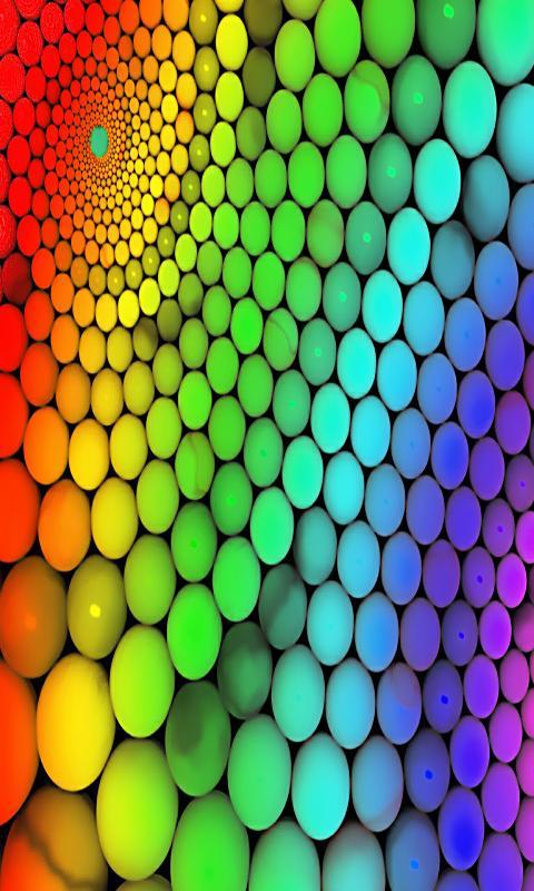 Colorful 3D Wallpaper HD Poster Apk Screenshot