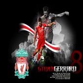 Steven Gerrard HD Wallpaper icon