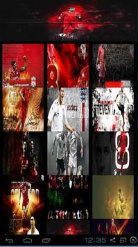 Steven Gerrard HD Wallpaper poster