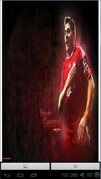 Steven Gerrard HD Wallpaper apk screenshot