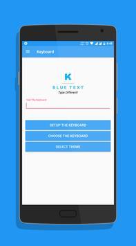 Blue Text screenshot 3