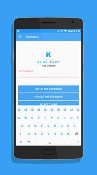 Blue Text screenshot 4