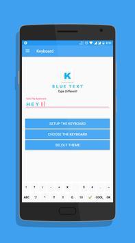 Blue Text screenshot 5