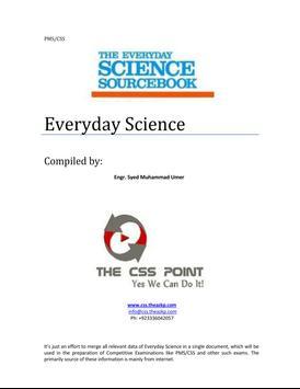 Everday Science CSS Point apk screenshot