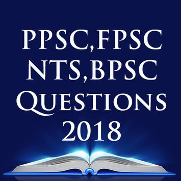 CSS FPSC PPSC NTS Important MCQs 2018 poster