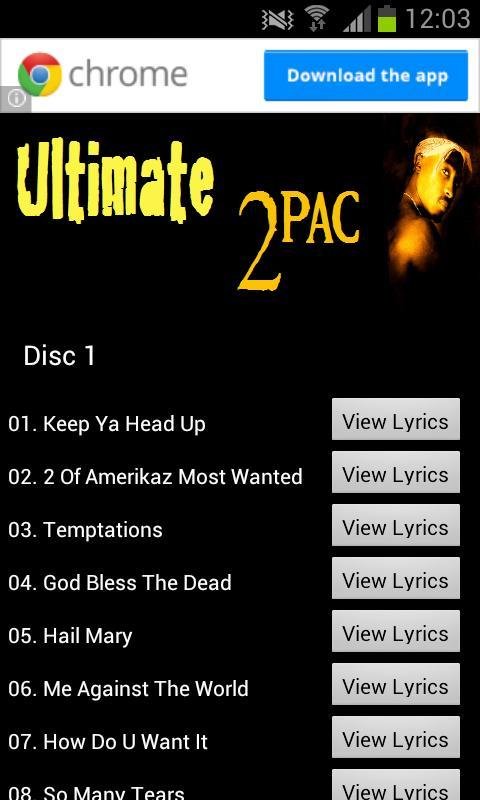 Ultimate 2Pac for Android - APK Download