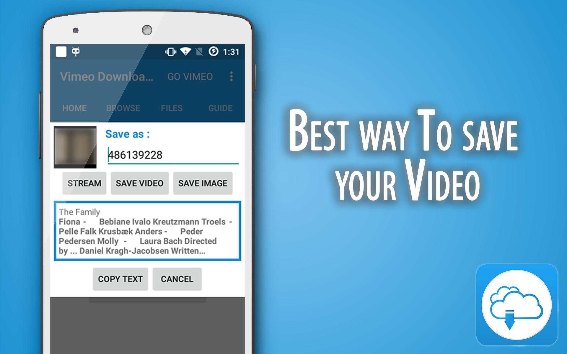 Video Downloader for Vimeo for Android - APK Download
