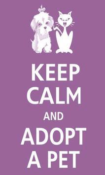 Keep calm Love Pet Wallpaper apk screenshot