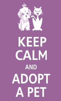 Keep calm Love Pet Wallpaper screenshot 2