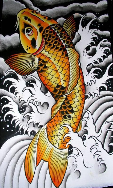 32bf5b819 KOI FISH TATTOO DESIGN for Android - APK Download