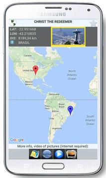 World Wonders GPS Location apk screenshot