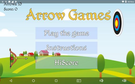 Arrow Games poster