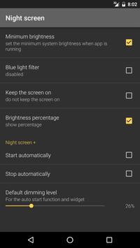 Night screen screenshot 2