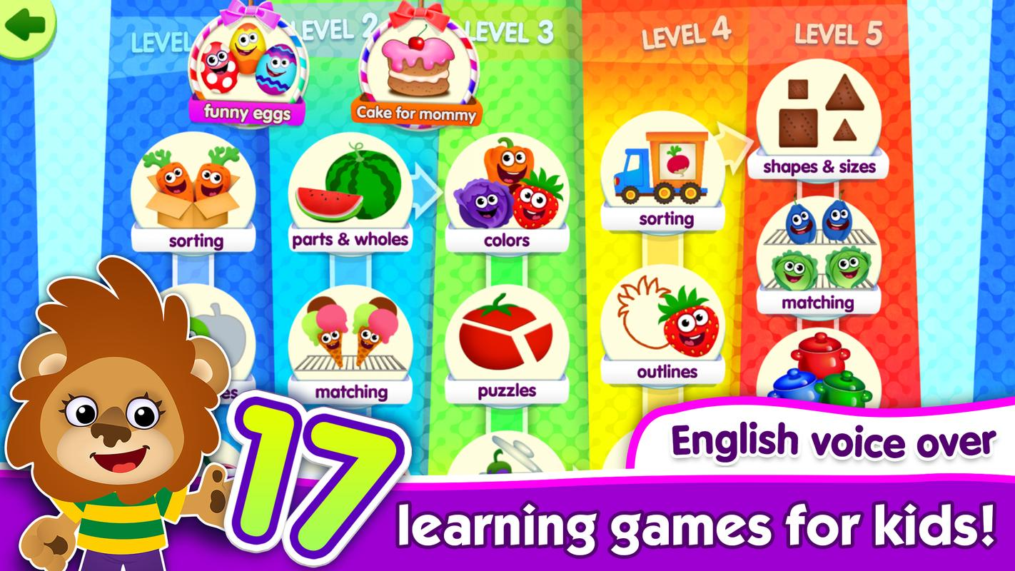 Juegos Educativos Para Ninos De 3 Anos Funny Food For Android Apk