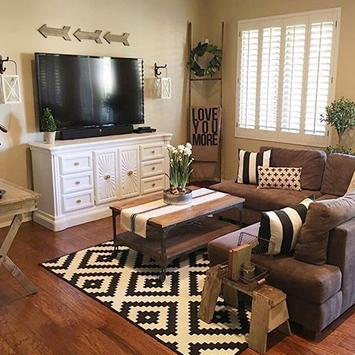 Country Rustic Living Room For Android Apk Download